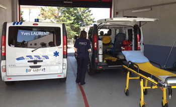 Photo des ambulances Yves Laurent en service